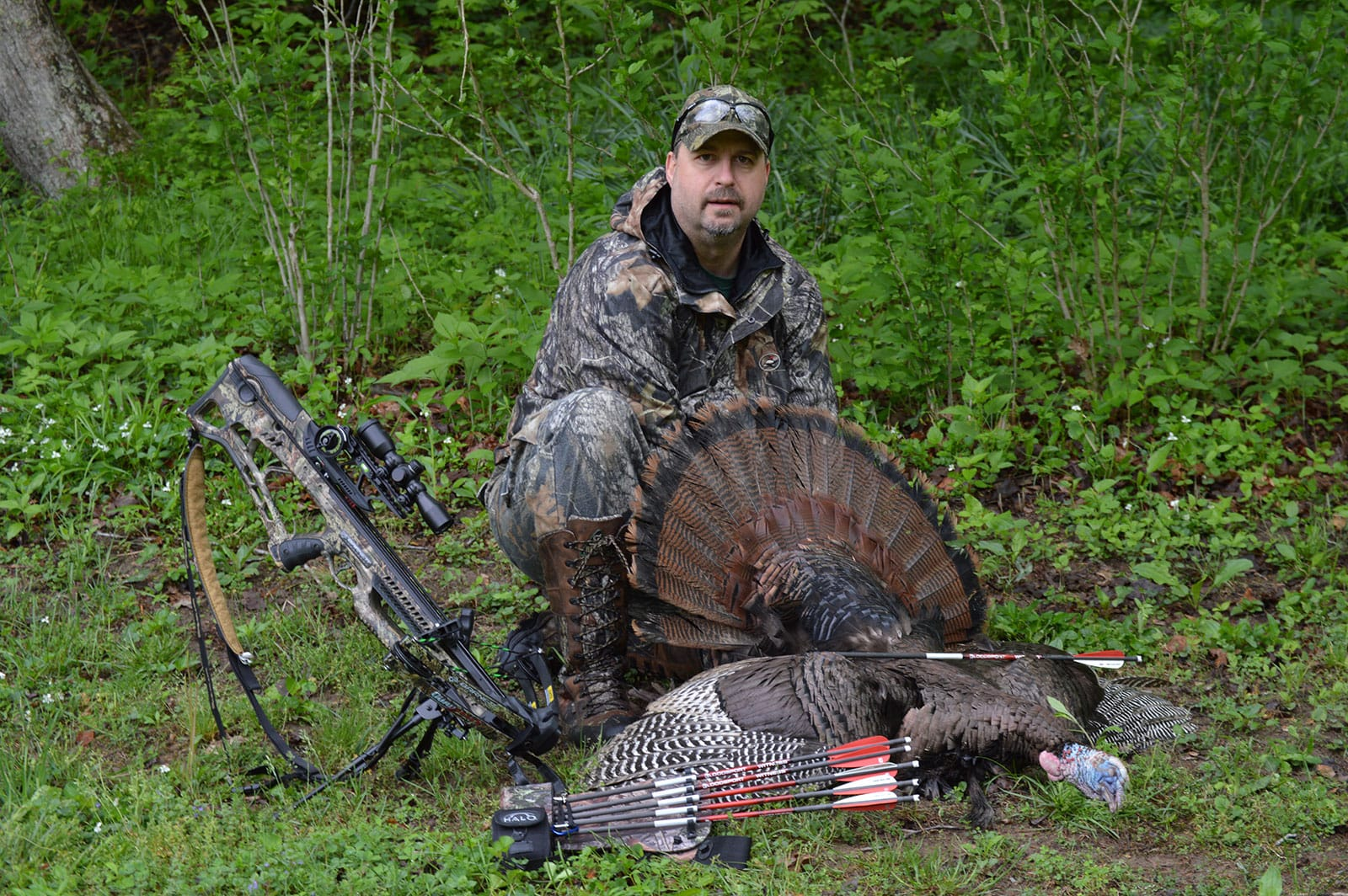 Turkey with Crossbow